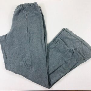 Danskin Grey Boot-Cut Pants Size Large